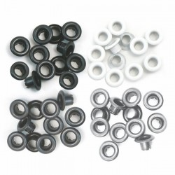 Айлети - We R Memory Keepers - Standard Eyelets Aluminum Grey