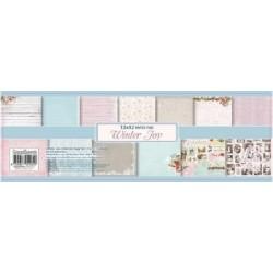 "Дизайнерски листи 12"" х 12"" - 13бр. - ScrapBerry´s 12x12 Scrapbooking Paper Pad Winter Joy"