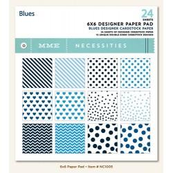 "Дизайнерско блокче 6""х 6"" - Blues 6x6 Paper Pad"