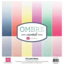"Комплект от дизайнерски хартии 12""х12"" - OMBRE Collection Kit OMB11016"