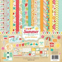 "Летни дизайнерски хартии 12""х12"" - Summer Bliss Collection Kit SB62016"