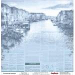 "Двустранен дизайнерски картон 12"" х 12"", 180гр. - Double-sided paper 12""*12"" 180 g/m, Discover Italy, Bella Italia"