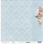 "Комплект от дизайнерски хартии 12"" х 12"" , 190гр. 13 листа - Paper Collection (12*12 – 190gsm) Butterflies (13 Sheet Multi-Design Set)"