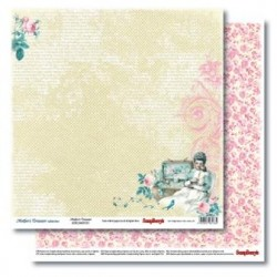 Двустранна дизайнерска хартия - Double-Sided Paper (12*12 – 190gsm) Mother's Treasure – Forever