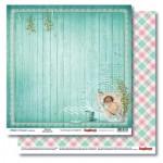 Двустранна дизайнерска хартия - Double-Sided Paper (12*12 – 190gsm) Mother's Treasure Bath Time