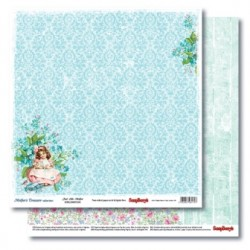 Двустранна дизайнерска хартия - Double-Sided Paper (12*12 – 190gsm) Mother's Treasure - Just Like Mother