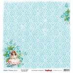 Двустранна дизайнерска хартия - Double-Sided Paper (12*12 – 190gsm) Mother's Treasure - Just Like Mother