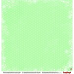 "Двустранен дизайнерски картон - Double-sided paper 12""*12"" 190gsm, Xmas Berries Mistletoe & Winter Stars"