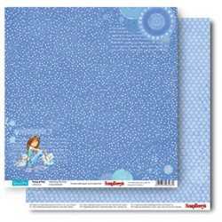 Двустранна дизайнерска хартия - Double-Sided Paper (12*12 – 190gsm) Young And Free Sketching The Stars