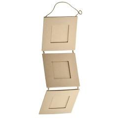 Рамки за снимки от папие маше - 3бр. - Paper Picture Frame (33.5x10.5cm)