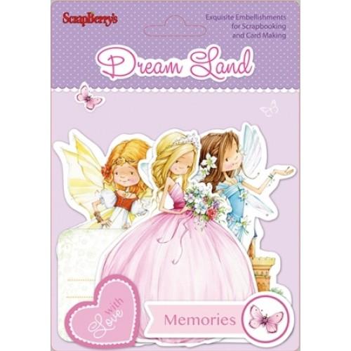 Изрязани елементи - Dream Land - Set of cards 43 pcs Dream Land - 43бр.