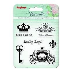 Комплект от печати - Set of stamps 10,5*10,5cm Versailles. Like a king SCB4901003b