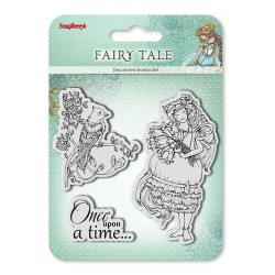 """К-т от печати """"Приказка"""" - Set of stamps 10,5*10,5cm Fairy tale. Once upon a time SCB4904009b"""