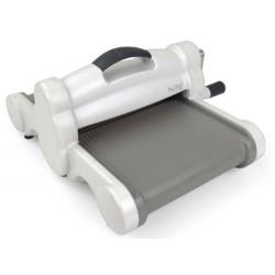 Машина за рязане и релеф А4 - Sizzix - Big Shot Plus Machine Only (White & Gray) - базов модел