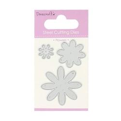 Метални щанци - цветя - Dovecraft Die – Flowers