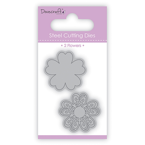 Тънки метални щанци - цветя - Dovecraft Die – Flowers