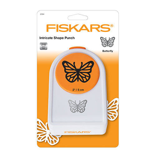 Перфоратор пеперуда - 5 см - Fiskars Intricate Shape Punch – Butterfly