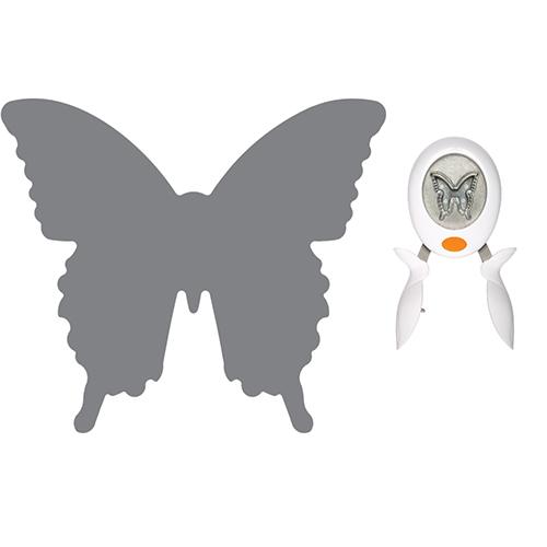 Перфоратор / пънч пеперуда -Fiskars Squeeze Punch - XL – Butterfly- 4х4.5см