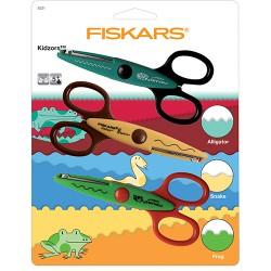 Комплект от 3бр. декоративни ножици - Fiskars Kidzors™ Pack of 3 Scissors - Swamp Creatures