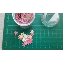 Контейнерче с пайети - розови цветя