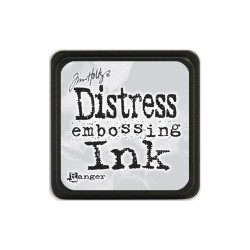 Мини дистрес ембосинг мастило - Tim Holtz - Distress embossing mini ink pad