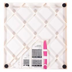 Дъска за биговане в инчова - Vaessen Creative • Score Easy Scoring board Inch