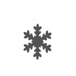 """Пънч - снижинка - 0.95см - Lever punch mini 0,95cm-3/8"""" snowflake"""