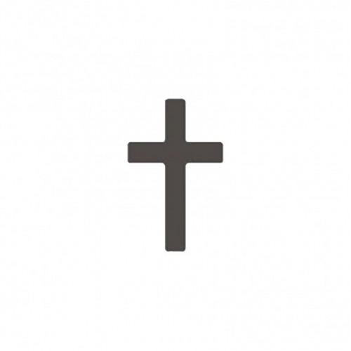 "Пънч - кръст - 2,5 см. -  lever punch medium 2,5cm-1"" cross"