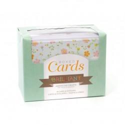 Основи за картички с пликове - 40бр. - Boxed cards x 40 cards & envelopes briliant