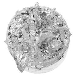 Сребърни шлак люспи - Tonic Studios Nuvo gilding flakes 200ml silver bullion- 200мл