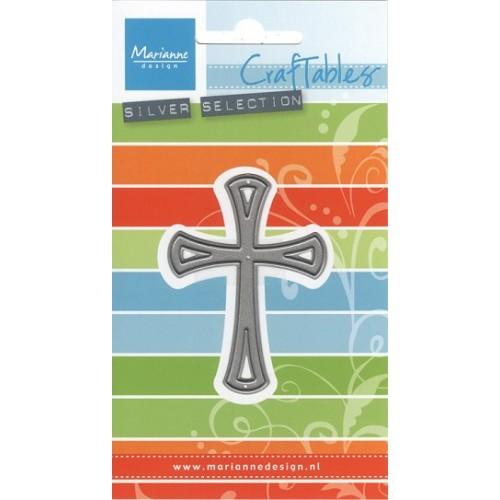 Универсална щанца кръст - Marianne Design Craftables graceful cross