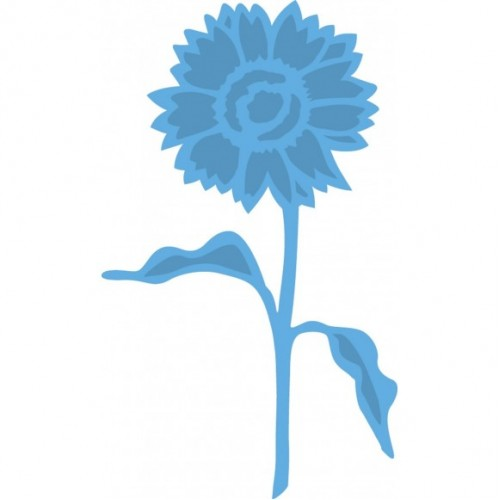 Тънка метална щанца - слънчоглед - Marianne Design Creatables Tiny's sunflower