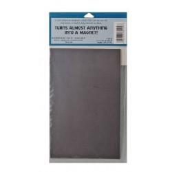 Самозалепващ се гъвкав магнитен лист - Magnetic plaque 13x20.5 cm. adhesive
