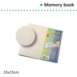 "Албум за спомени 6"" х 6"" - Memory book 6x6"" natural cover"