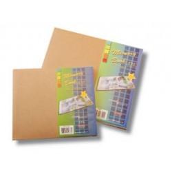 """Книга за спомени 6"""" х 6"""" с корици от крафт картон - Memory book 6x6"""" kraft cover"""