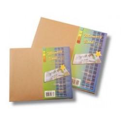 """Книга за спомени 12"""" х 12"""" с корици от крафт картон - Memory book kraft paper 12""""x12"""""""
