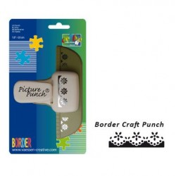 Бордюрен перфоратор - Border Craft punch bloem