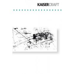 Фонов силиконов печат - Kaiser craft - clear stamp sketchy