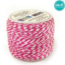 Цветен канап в розово - 45м - Memory Keepers Baker's twine 45m spool pink