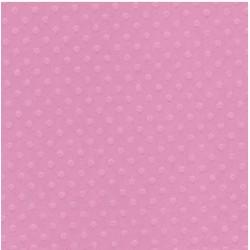 """Релефен картон на точки в розово 12"""" х 12"""" - Bazzill basics paper - Bazzill dot Swiss 12x12"""" x1 slipper - 180гр."""