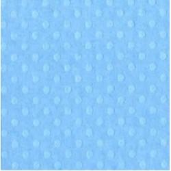 """Релефен картон на точки в синьо 12"""" х 12"""" - Bazzill dot Swiss 12x12"""" x1 poolside - 180гр."""