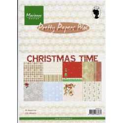 Дизайнерско блокче - Marianne Design pretty papers bloc christmas time