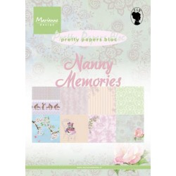 Дизайнерско блокче - Marianne Design pretty papers bloc nanny memories