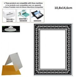 Папка за релеф фото рамка - Darice - Embossing template 10,8x14,6cm photo frame