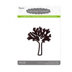 Щанца за изрязване и релеф дърво с клони - Darice - Die cut stencil tree 76x92mm