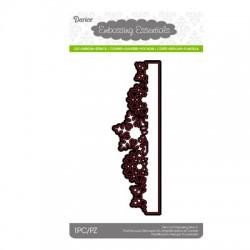 Шаблон за рязане и релеф бордюр от снежинки - Darice - Die cut stencil snowflake border