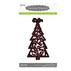 Щанца за изрязване и релеф елха - Darice - Die cut stencil christmas tree