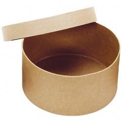 Кръгла крафт кутия (цилиндрична) - D - 20см, H - 10см