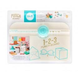 Пънч - дъска 1-2-3 за изработване на пликове, кутийки и панделки - Memory Keepers 1-2-3 punch board
