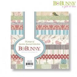 "Дизайнерско блокче 6"" х 6"" - Bo Bunny garden journal 15,2x15,2cm paper pad"